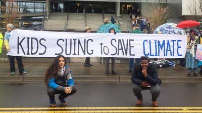 De vijftienjarige activist die Obama aanklaagt voor klimaatverandering