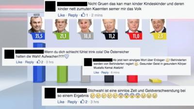 Die schlimmsten Kommentare zur österreichischen Bundespräsidentschaftswahl 2016