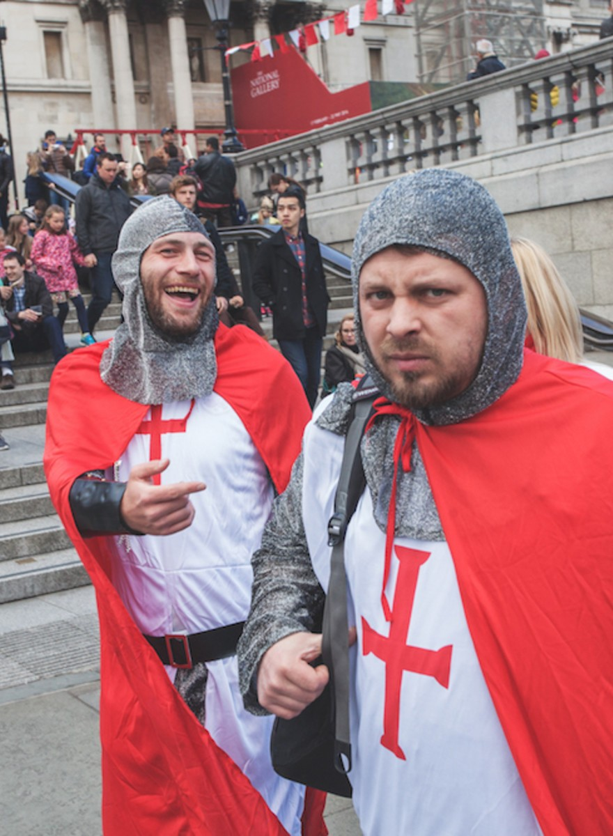 The One Day a Year When the St George's Cross is Fine