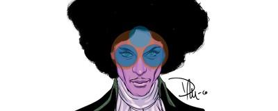 Tributo ilustrado a Prince