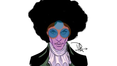An Illustrated Tribute to Prince