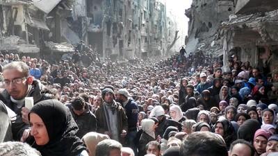 Het leven in een stad die omsingeld is door IS en het Syrische regime
