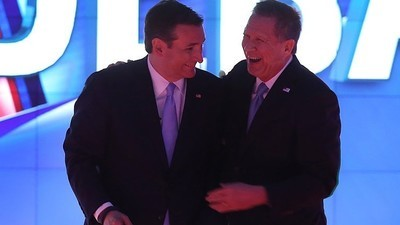 Kasich and Cruz's Anti-Trump Alliance Is Cute, but It Won't Work
