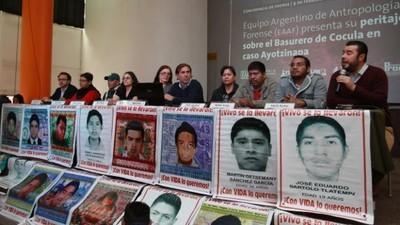 'Las cosas que hemos visto en México, no las vemos en ningún lado', dicen peritos argentinos
