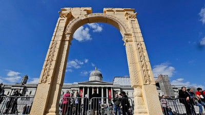 Why Recreating the Palmyra Arch Is Smug, Hypocritical, and Tacky