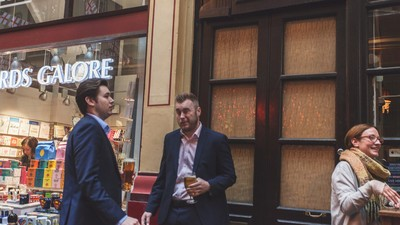 What Do Pissed-Up City Workers Think of the EU Referendum?