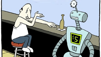'DOORBOT 9000,' Today's Comic by Jeff Mahannah