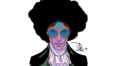 Eine illustrierte Hommage an Prince