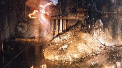 """L'uomo che ha trovato un """"elefante radioattivo"""" nel seminterrato di Chernobyl"""
