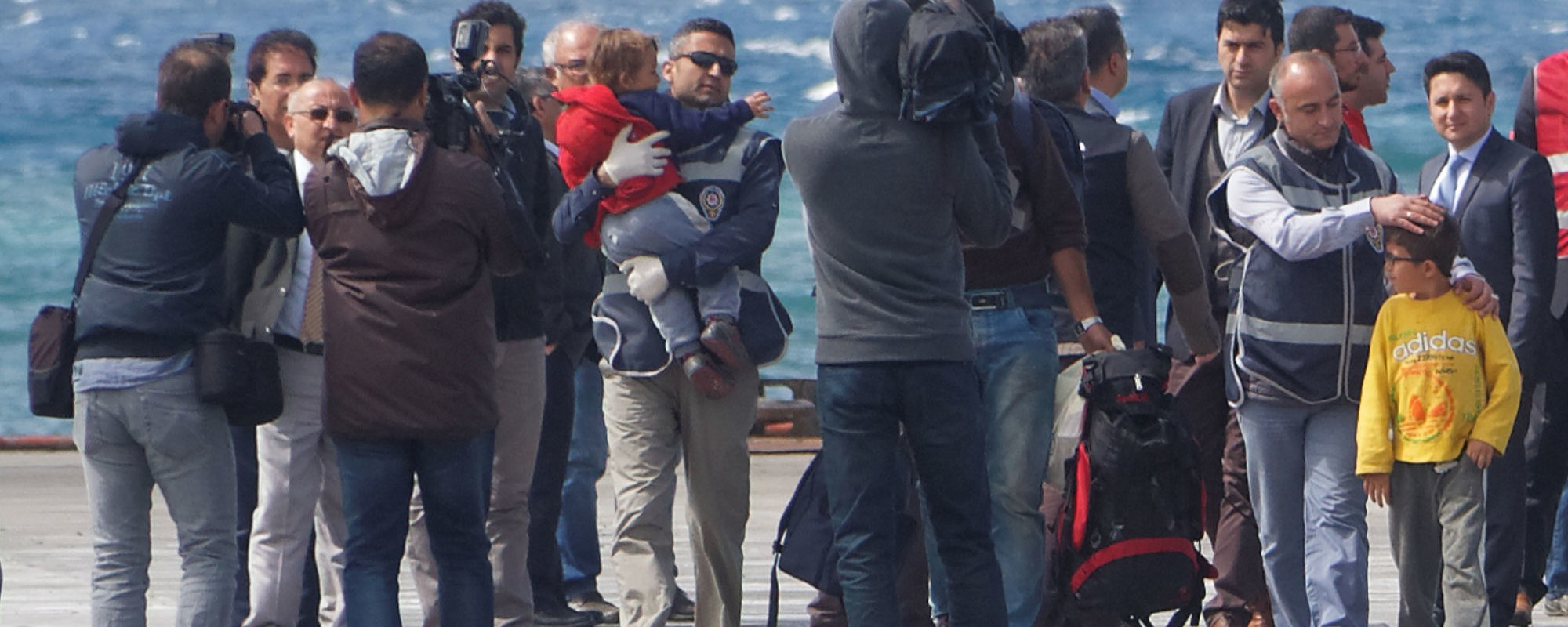 So sieht es aus, wenn die EU Kinder in die Türkei abschiebt