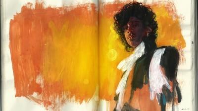 Un omagiu ilustrat adus lui Prince
