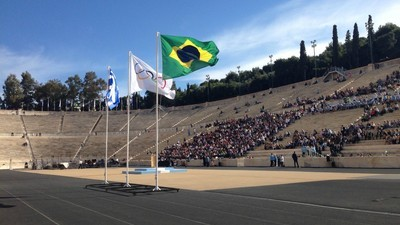 VICE Live: Η Τελετή Παράδοσης της Ολυμπιακής Φλόγας στο Παναθηναϊκό Στάδιο