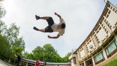 Am fost la cel mai mare festival de Parkour din Iași ca să văd cum e să zbori