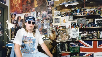 Dans les chambres des adolescents en 1990