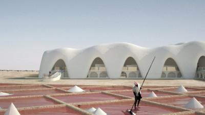 Een Nederlandse architect en zijn plan om een woestijnstad van zeezout te bouwen