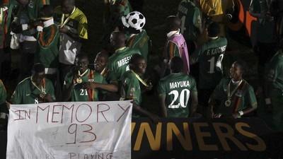 Le jour où la sélection nationale de Zambie a voyagé au bout de l'enfer