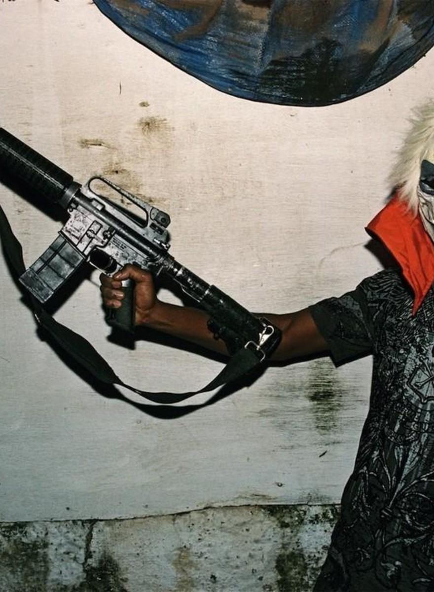 Foto dai quartieri più belli e violenti della Giamaica