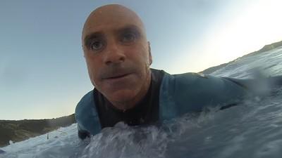 Surfar às cegas: um treinador muito especial