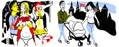 Udlændinge fortæller, hvad der chokerede dem mest ved at flytte til Danmark