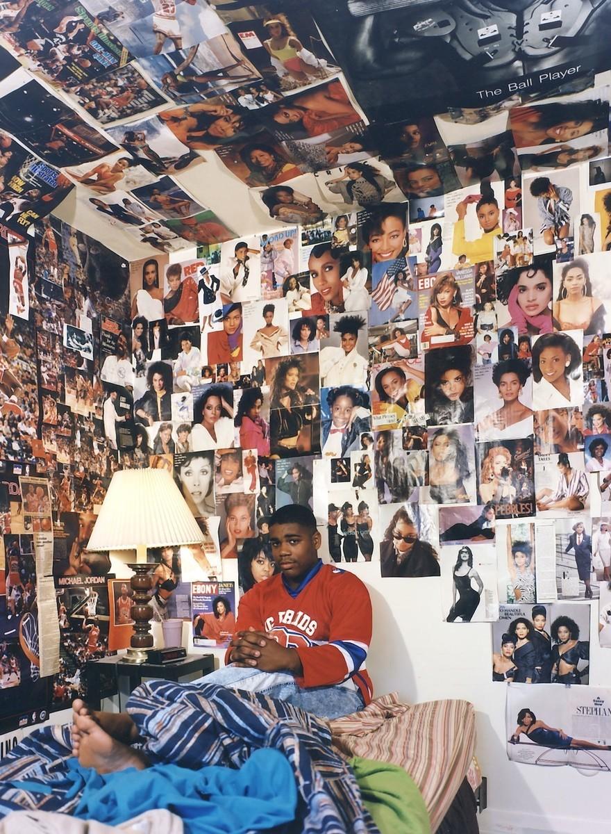 Habitaciones de adolescentes en los 90