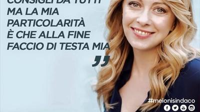 Forse questa volta Giorgia Meloni ha un attimo esagerato con Photoshop