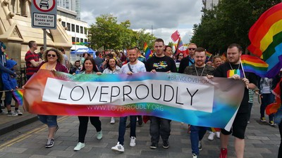 The LGBT Campaigners Trying to Push Homophobia Out of Northern Ireland