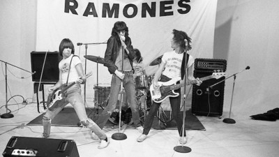 Photos From Behind the Scenes of the Ramones First Tour