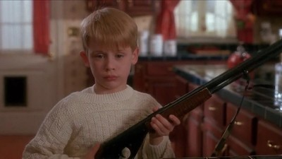 A Real Life 'Home Alone' Kid Shot a Robber with a Gun