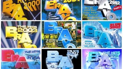 Wir haben alle Bravo Hits von 2000 bis 2015 in eine unschlagbare Top 16 gepackt