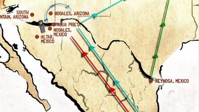 Así se ve cuándo cruzas cuatro veces la frontera entre México y Estados Unidos