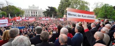 """""""Wir wissen immer, dass alles scheiße ist."""" – Was SPÖ-Mitglieder zum 1. Mai wirklich denken"""