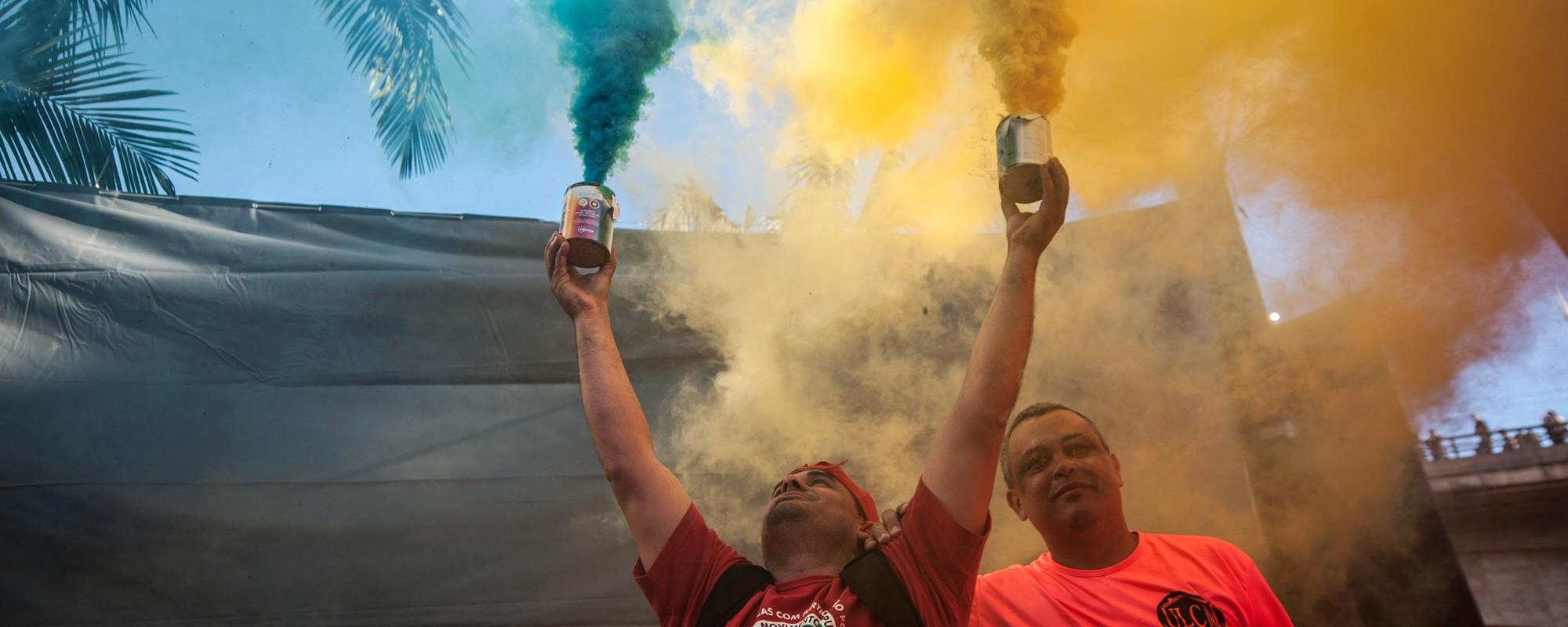 As comemorações do Dia do Trabalhador em Recife, São Paulo e Paraná