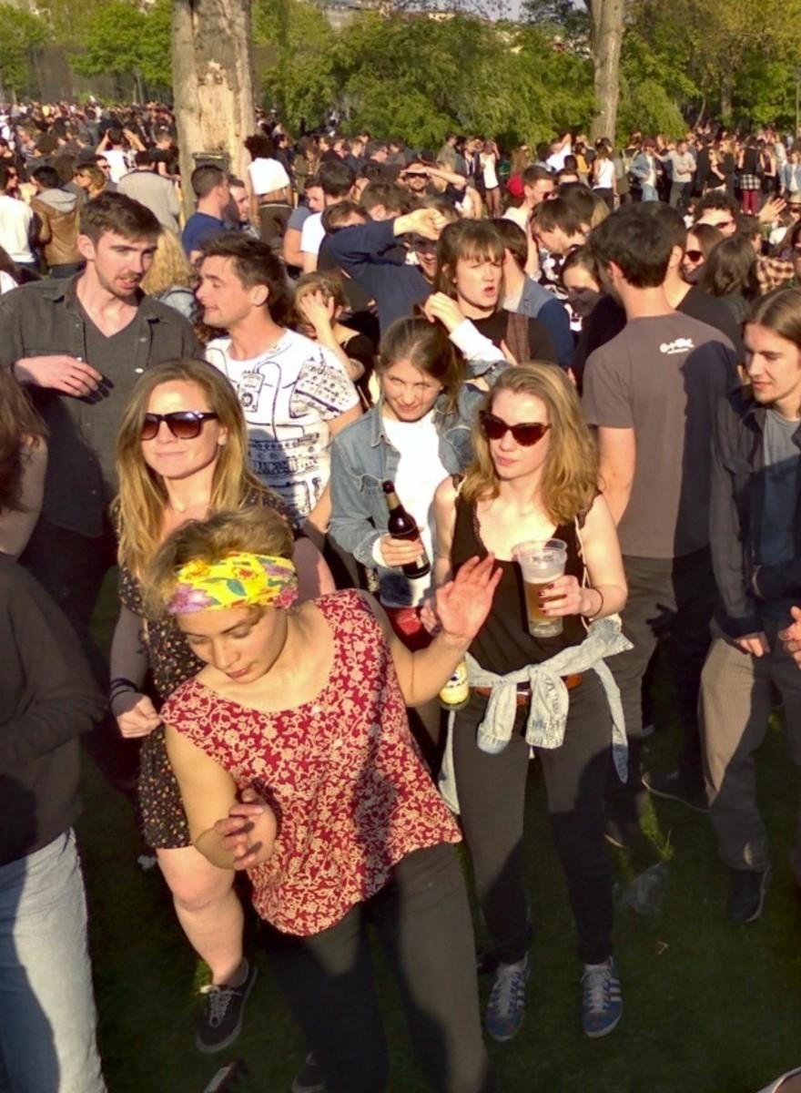 360-Grad-Fotos vom 1. Mai in Berlin