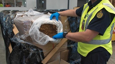 Melbourne Cigarette Mafia Busted With Eight Tonnes of Illegal Tobacco