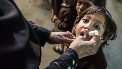 This Team of Brave Female Volunteers Is Fighting Polio in Pakistan