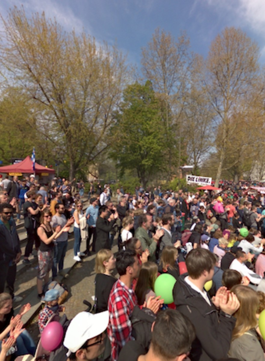 360° Photos of May Day Celebrations in Berlin
