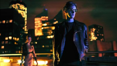 Synthwave Overlord Perturbator Is the Real Neon Icon