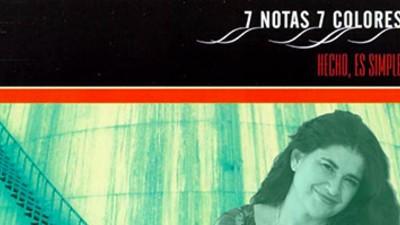 """Lucía Etxebarría analiza """"Hecho, es simple"""" de 7 Notas 7 Colores"""