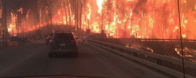 Canada's Oil Capital Devastated by Out-of-Control Wildfire
