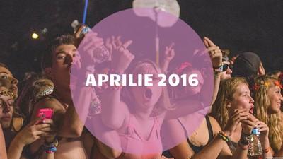Cea mai bună muzică românească din aprilie 2016