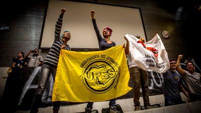 'Tá tranquilo, tá ocupado': os secundaristas tomaram a Alesp para pedir a CPI da merenda