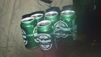 Me metieron 800 euros por beber una birra en la calle en Madrid