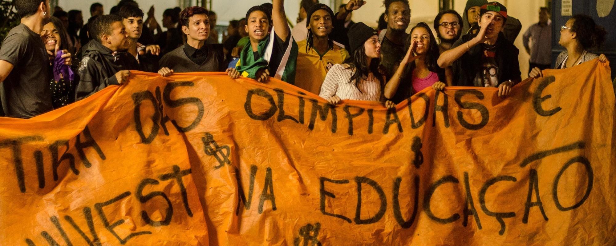 A ocupação da SEEDUC no Rio de Janeiro