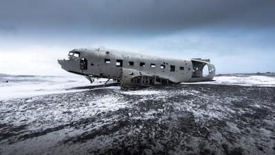 Die Geschichte von Islands mysteriösem Geister-Wrack: Gerettet vom Fluganfänger