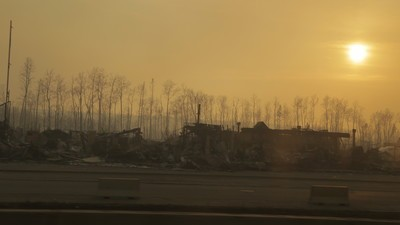 A Ride into the Ashes of Fort McMurray
