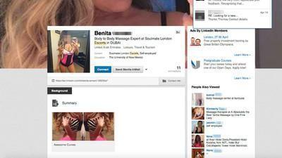 Selfie, prostituzione e frasi motivazionali: il lato NSFW di LinkedIn