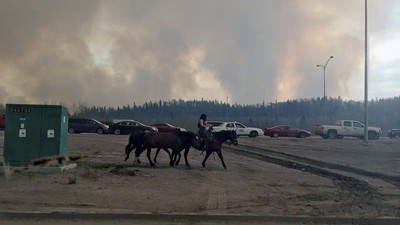 The Strange Ways Canada's Wildfire Evacuees Escaped Fort McMurray