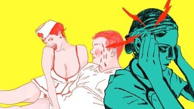 O que acontece quando o teu emprego é a fantasia erótica dos homens