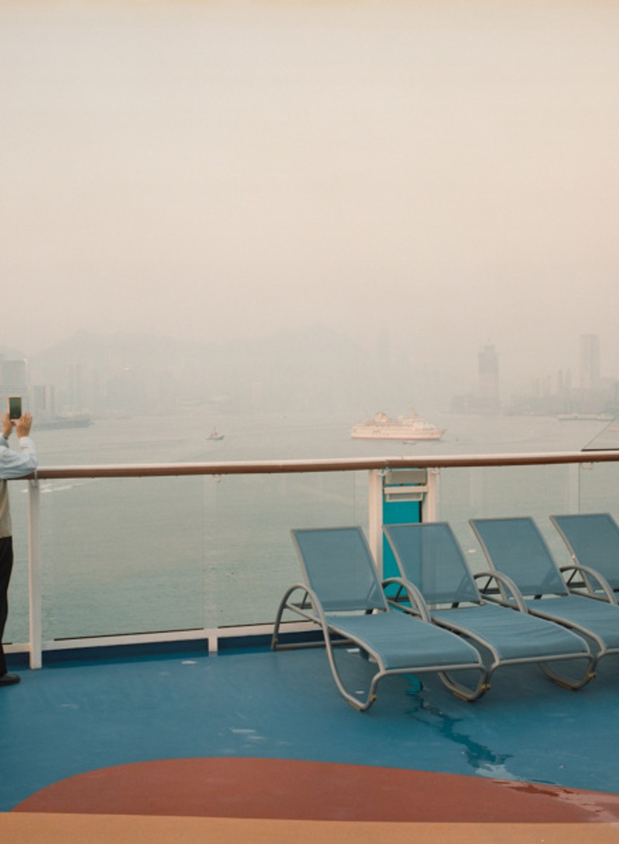 Surreal Photos Onboard a Chinese Cruise Ship