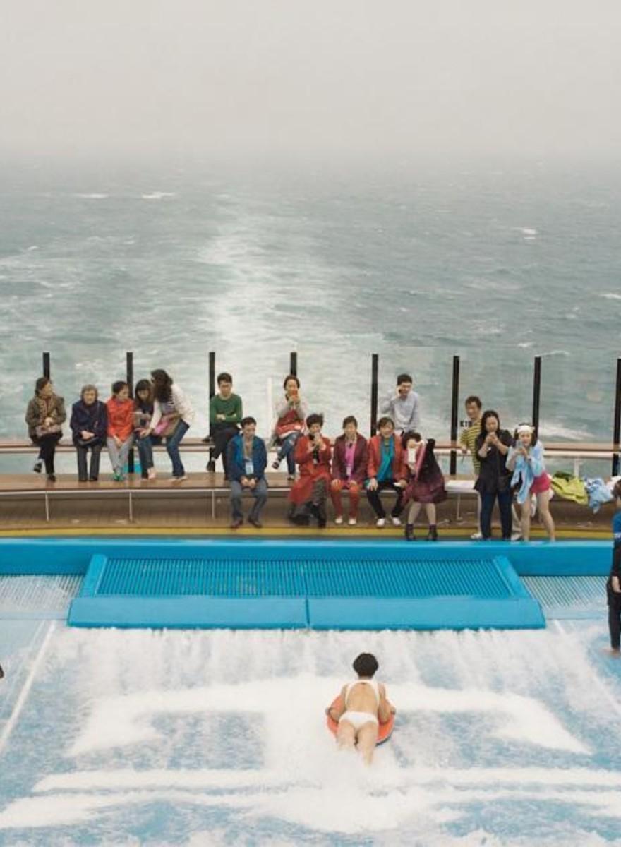 Die Surrealität einer chinesischen Kreuzfahrt